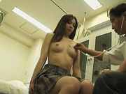 Japanese teen getting the rough medical spy pounding dvd AJAV0999718366 01