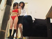 Spycam japanese movie with sexy lesbians acting very dirty