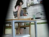 Hidden camera in kitchen